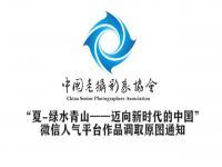 """""""夏-绿水青山——迈向新时代的中国""""微信人气平台作品调取原图"""