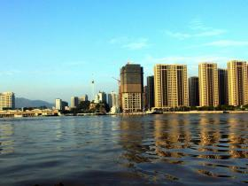 中国宁波舟山港---定海港区改革开放四十年后的今曰新貌