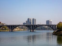 资江河岸《资江大桥》