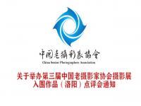 协会举办第三届中国老摄影家协会摄影展 入围作品(洛阳)点评会