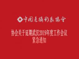 协会关于延期武汉2019