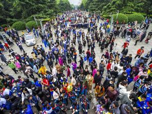 建党百周年,百万群众悼英烈