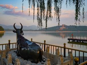 北京颐和园二十四节气